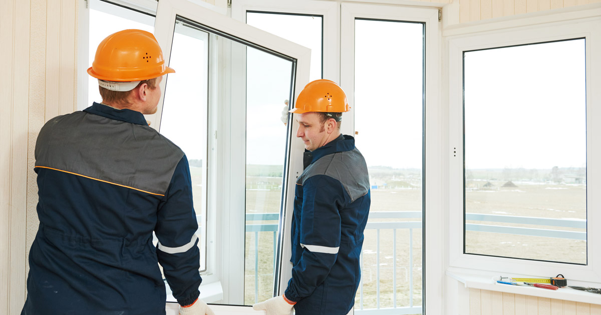 Buy double glazed windows to increase your home's energy efficiency.
