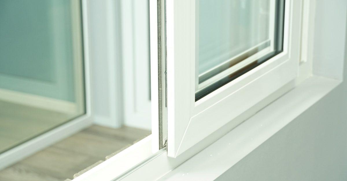 Energy efficient uPVC double glazed windows.