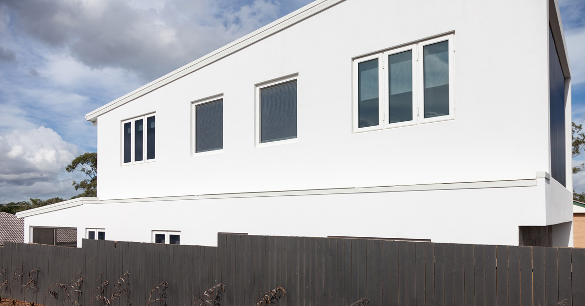 Energy efficient home in Australia.