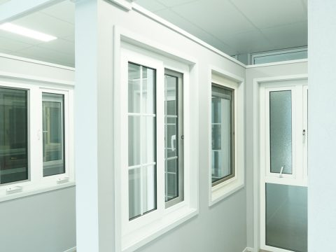 Double glazed windows and uPVC frames for comprehensive noise reduction