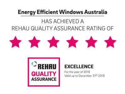 EE Windows achieves 6-star Certification for REHAU Quality Assurance